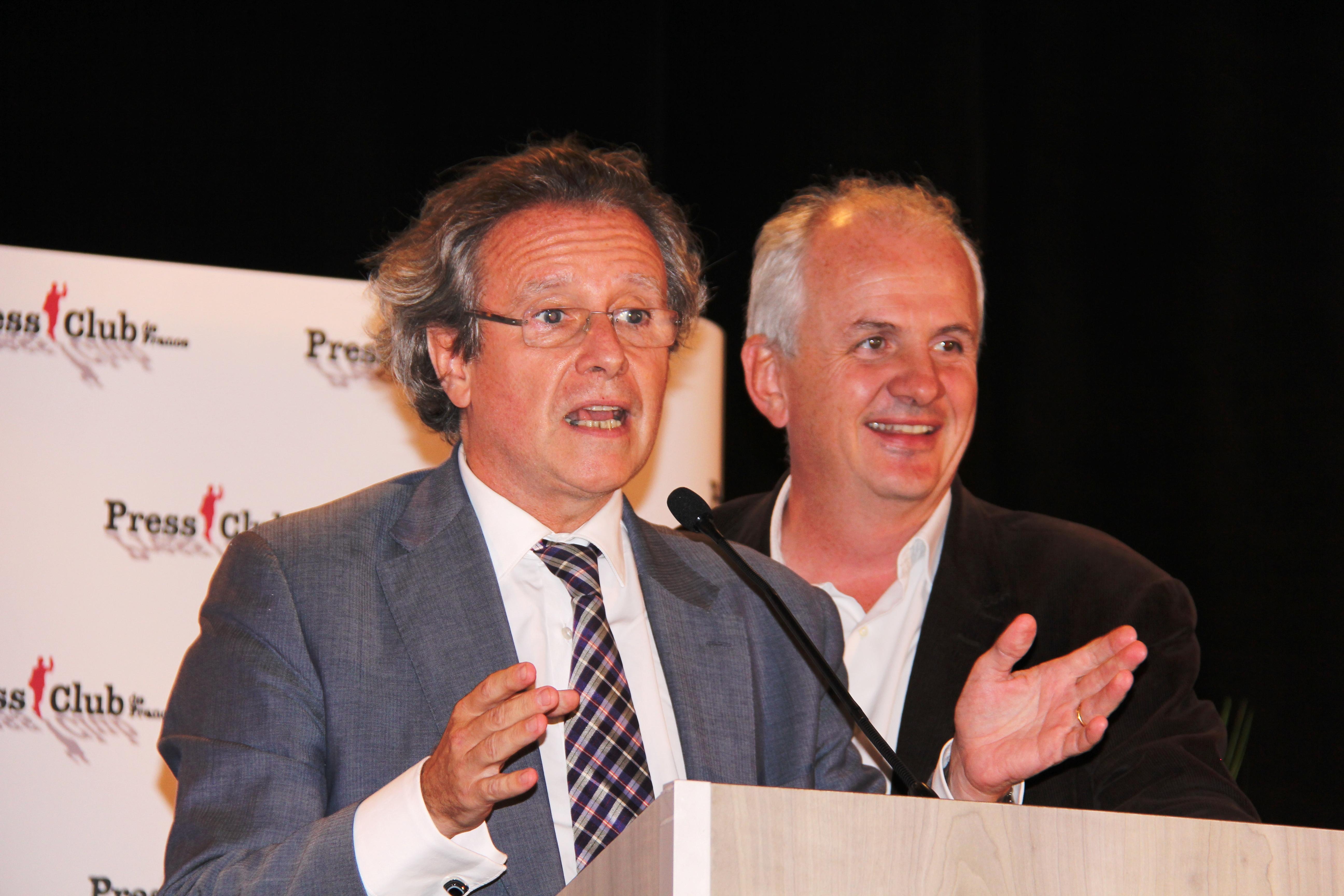 Olivier Mousson - UDI et Olivier de Lagarde - France Info