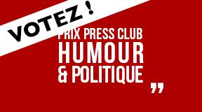 Prix Press Club Humour & Politique