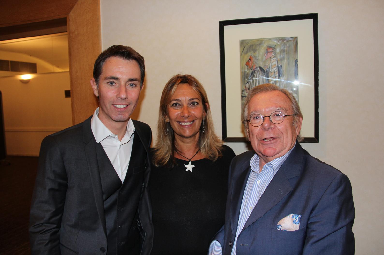 Gérald Ariano, Isabelle Bourdet - Press Club et Paul Lefèvre - W9