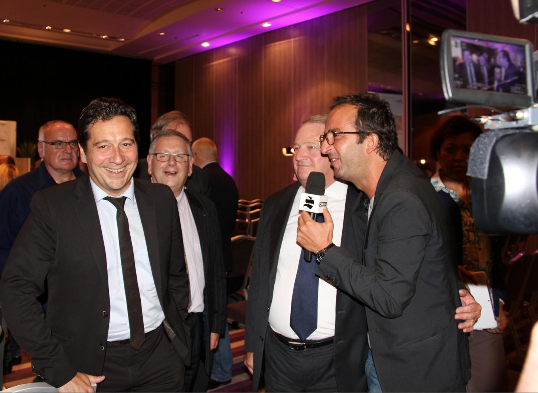 Laurent Gerra, Pierre Charon et Cyrille Eldin - Canal +