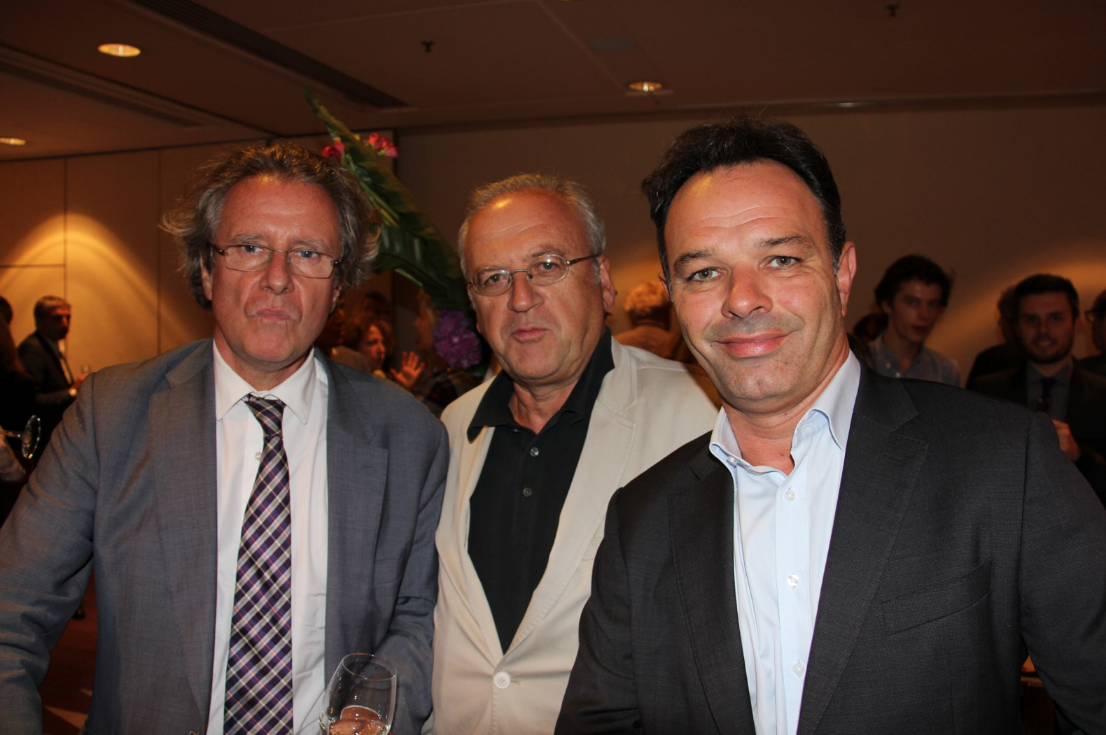 Olivier Mousson, Hubert Coudurier - Le Télégramme et Nicolas Charbonneau - TF1