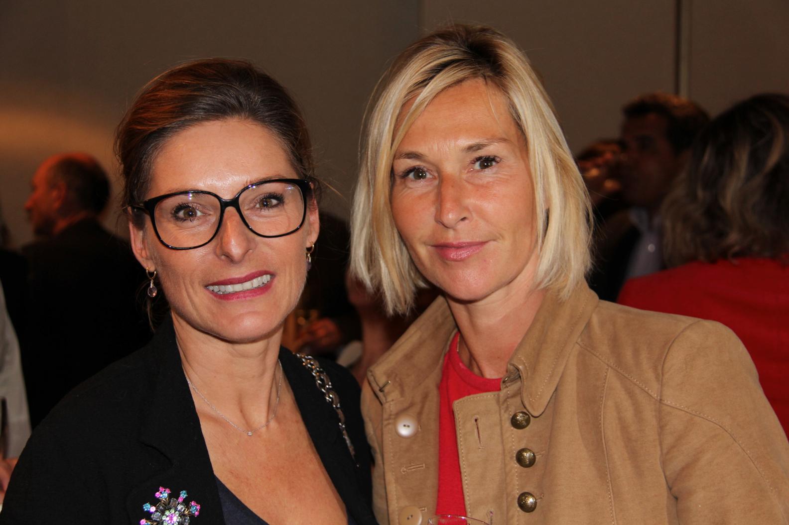 Sophie Peters et Karine Fauvet