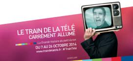 LE TRAIN DE LA TELEVISION EST SUR LES RAILS