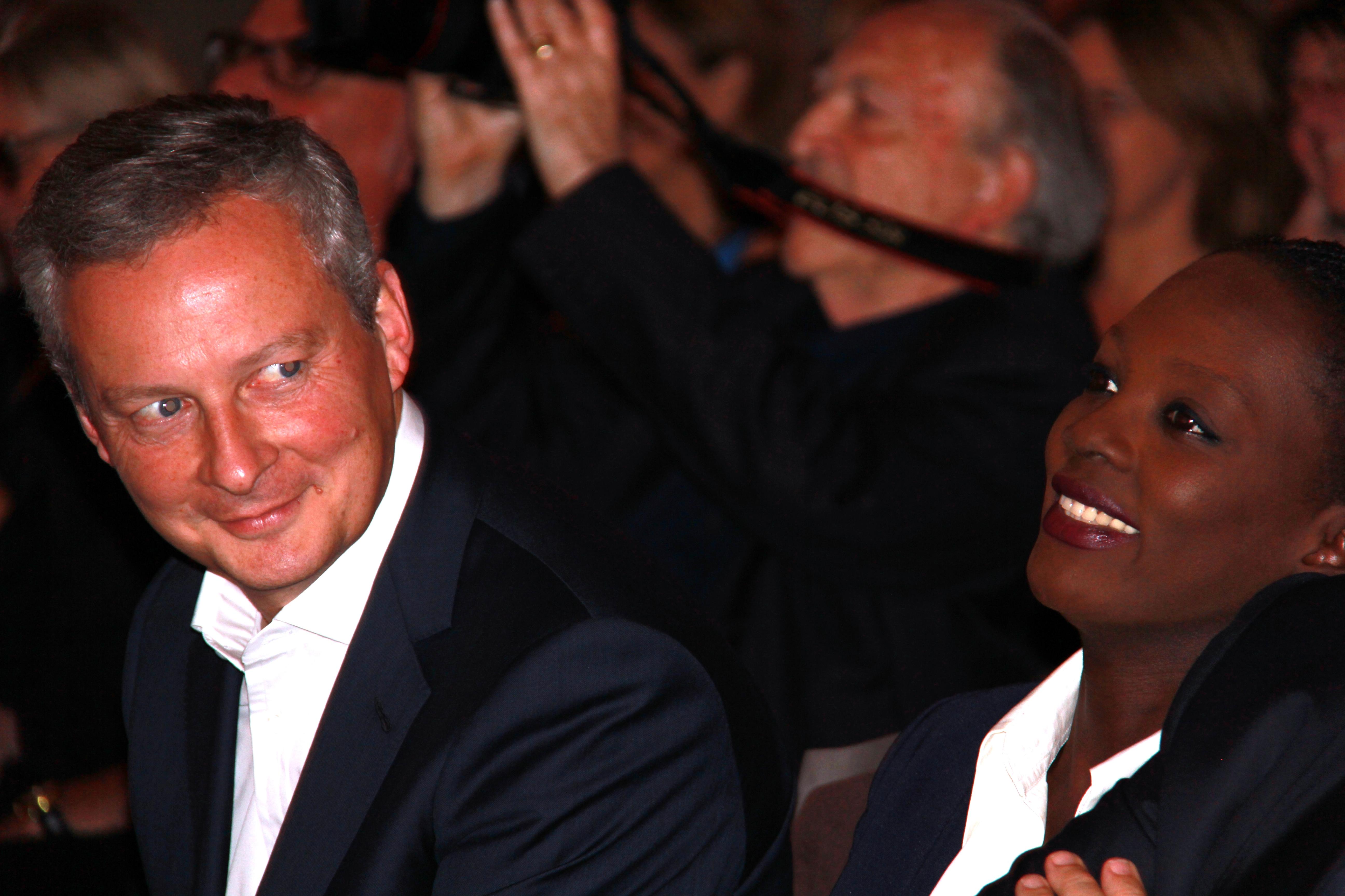 Bruno Le Maire - Candidat à la Primaire et Rama Yade