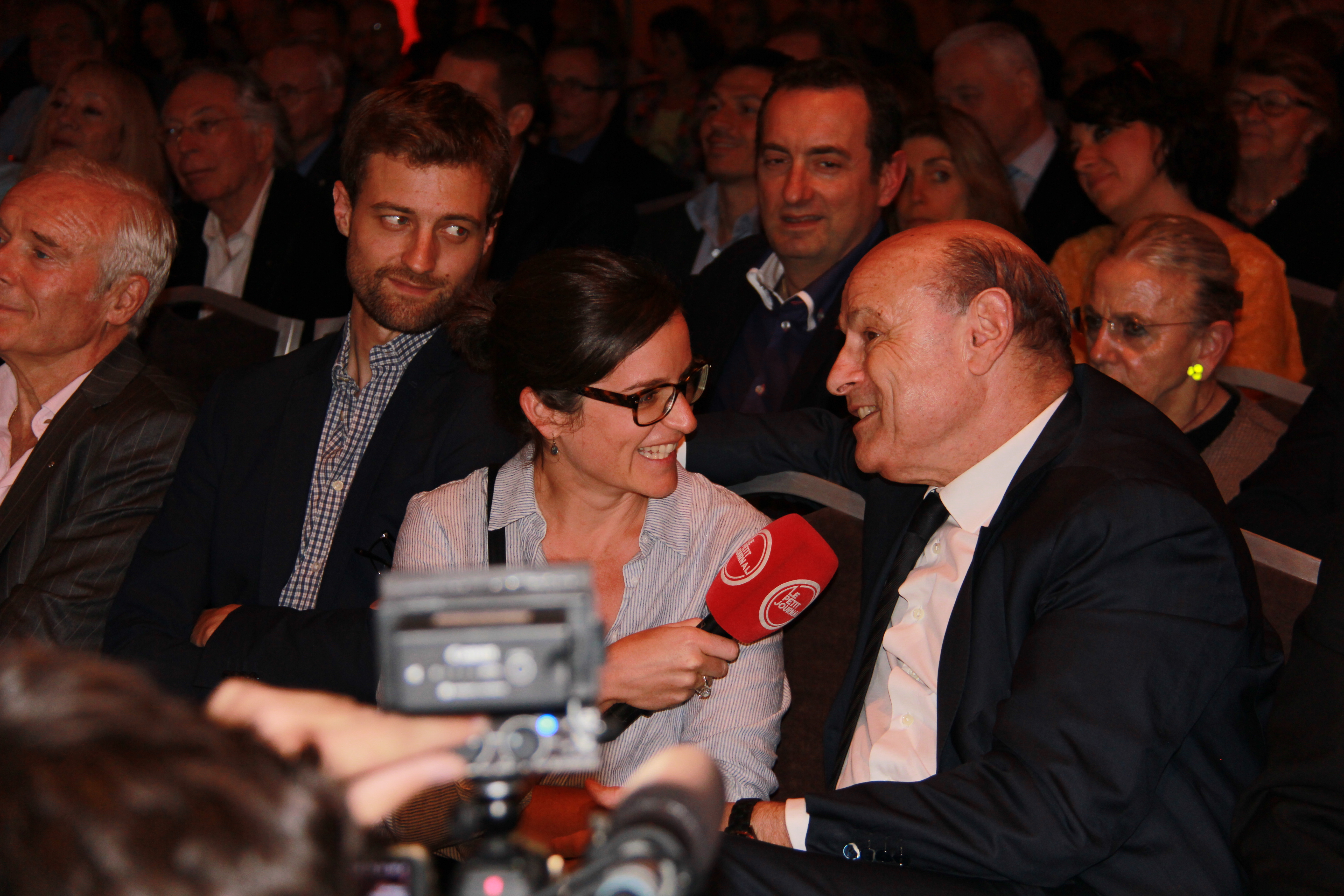 Frédéric Says - France Culture, Jean-Marie Le Guen - Secrétaire d'Etat chargé des relations avec le Parlement interviewé par le Petit Journal de Canal +