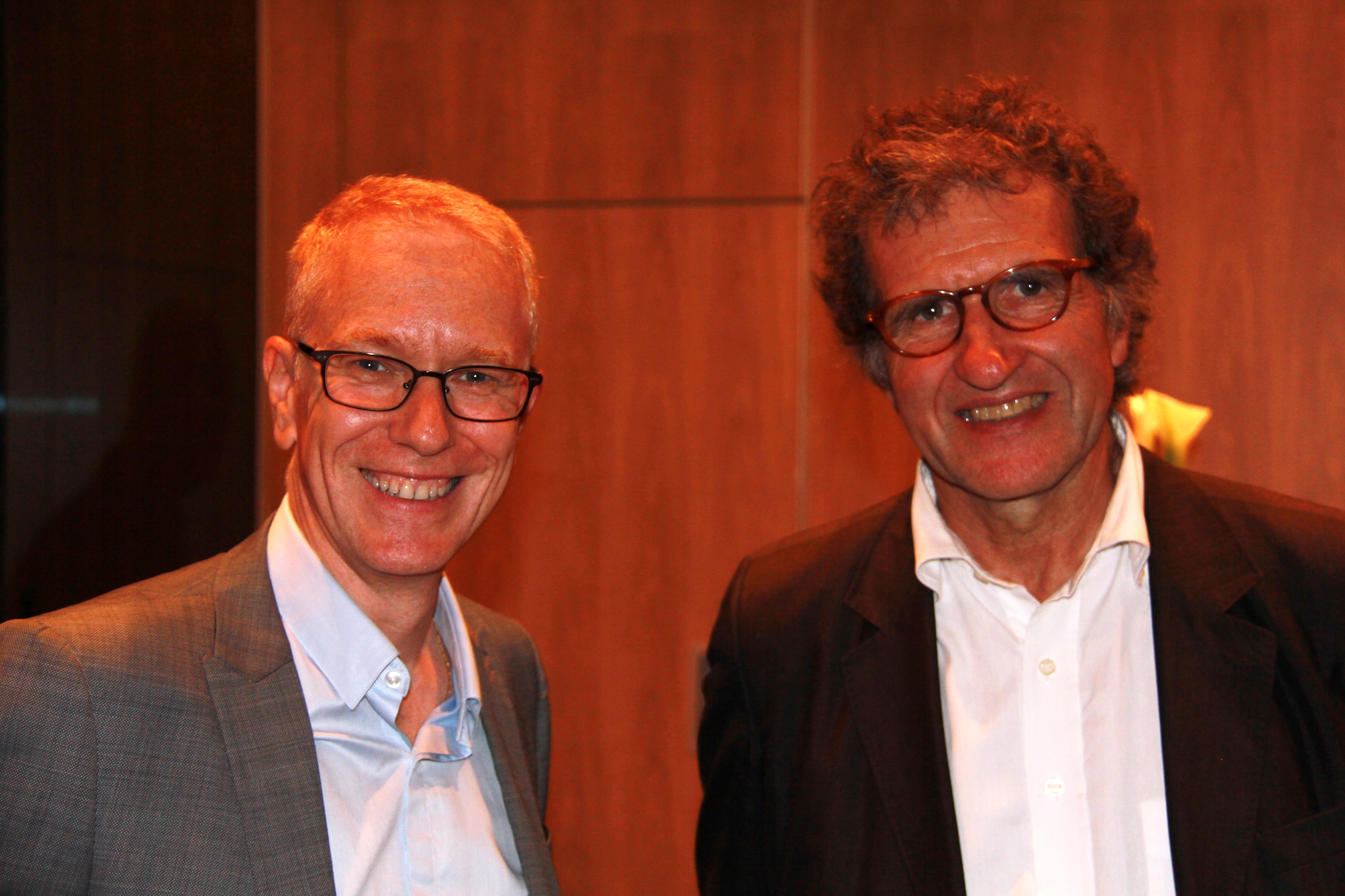Hervé Godechot - France 3 et Gérard Leclerc - Radio Classique