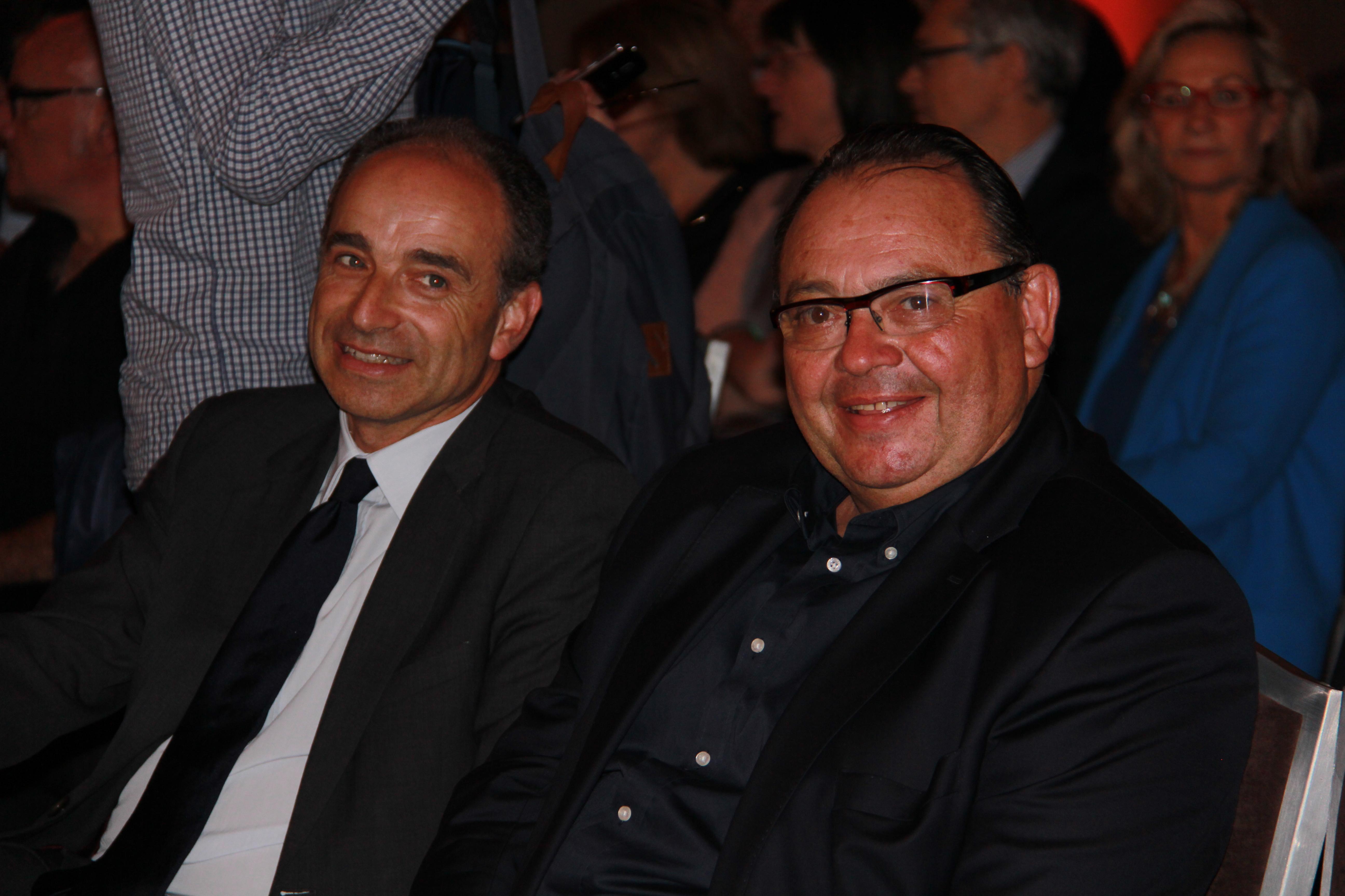 Jean-François Copé - Député-maire de Meaux et Patrick Mennuci - Député des Bouches-du-Rhöne