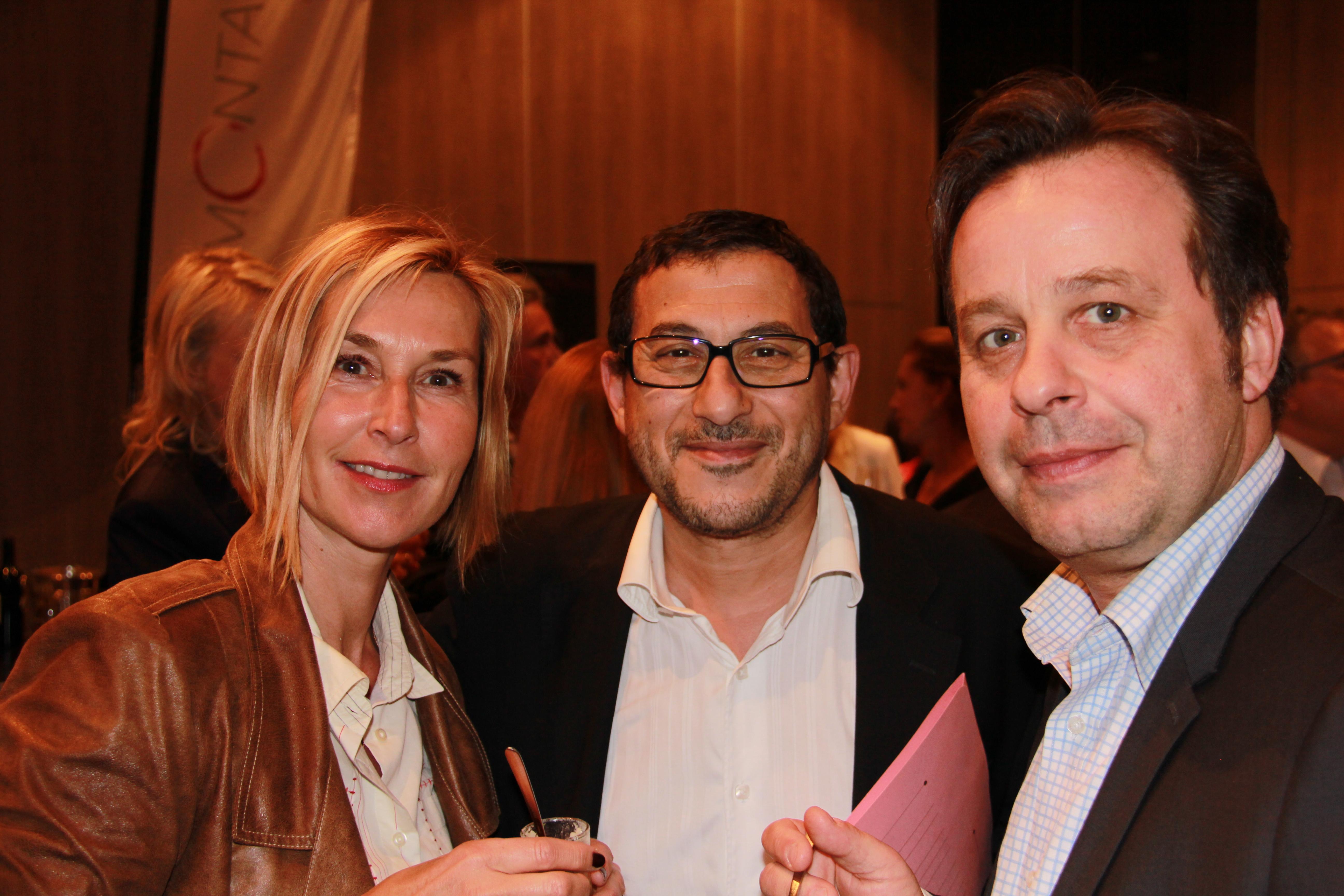 Karine Fauvet - LCI, Robert Kassous - Historia et Patrice Romedenne - France 2