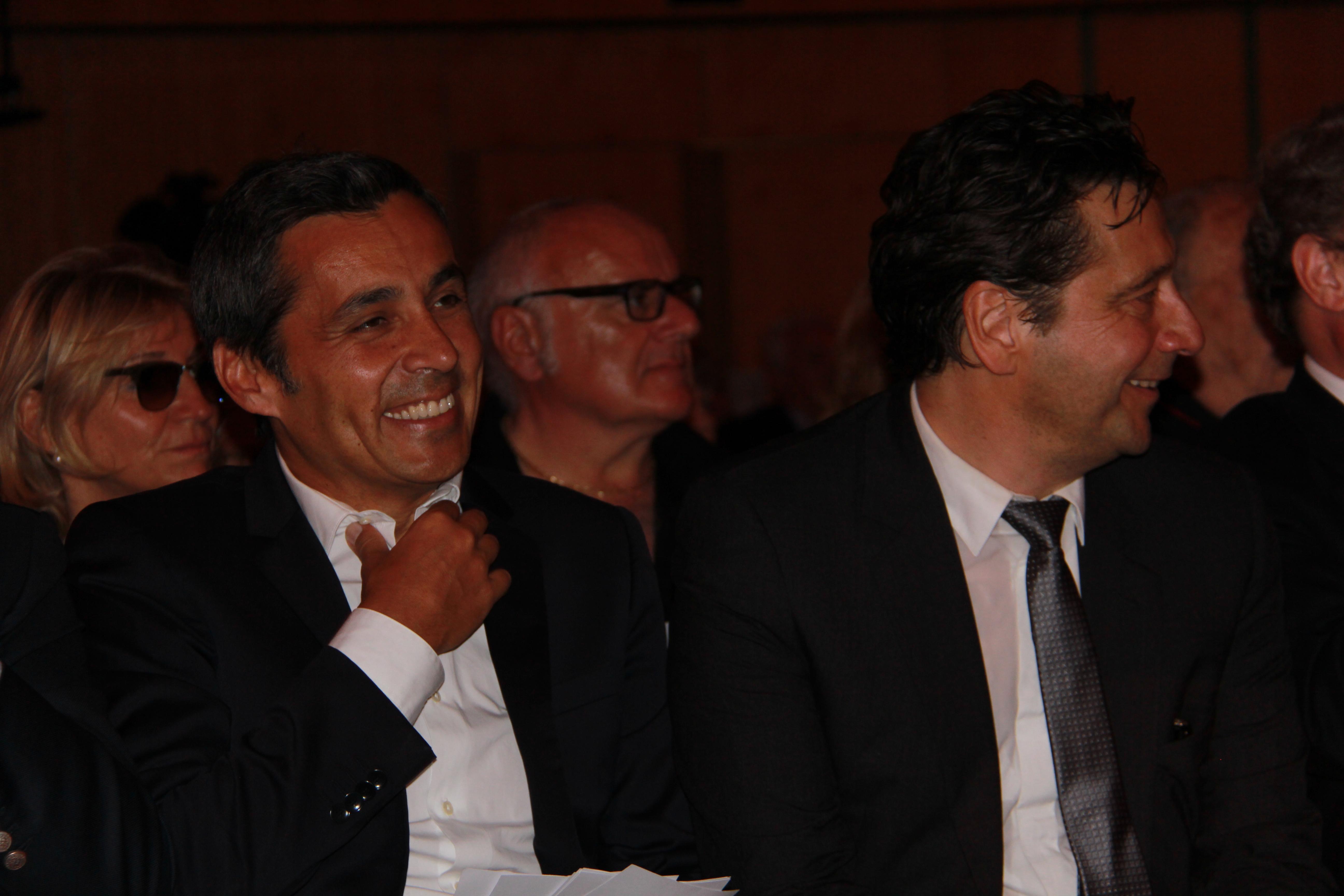 Olivier Galzi - ITélé et Laurent Gerra