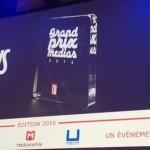 Prix des Médias 2016 : L'Equipe reçoit le grand prix