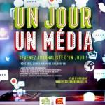 Lancement du concours «Un jour un média»