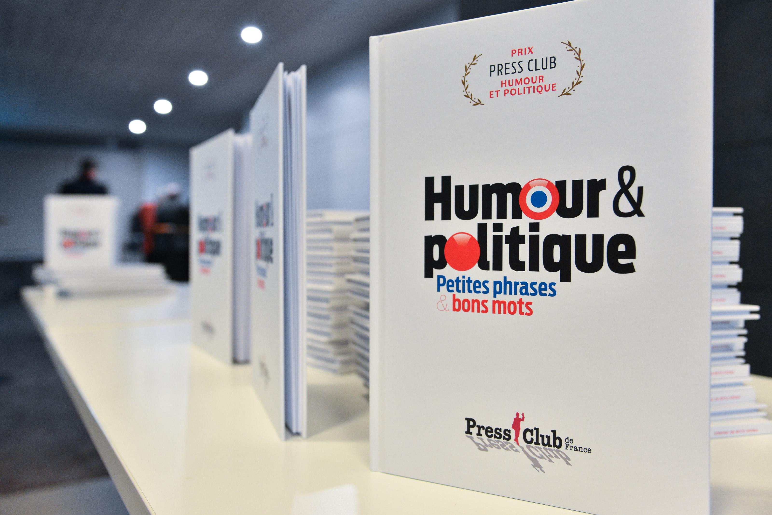 Prix Press Club Humour Et Politique Le Livre